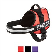 Doggie Stylz Service Dog Harness, Red, XX-Large