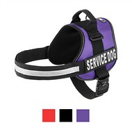 Doggie Stylz Service Dog Harness, Purple, XX-Large