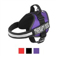 Doggie Stylz Therapy Dog Harness, Purple, Large
