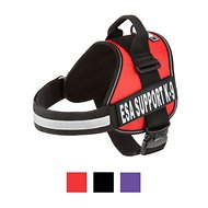 Doggie Stylz ESA Support K-9 Harness, Red, X-Large