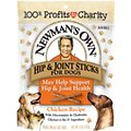 Newman's Own Chicken Hip & Joint Snack Sticks Dog Treats