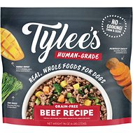 Tylee's Human-Grade Beef Recipe Frozen Dog Food, 6-lb bag