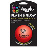 Spunky Pup Flash & Glow Ball Dog Toy