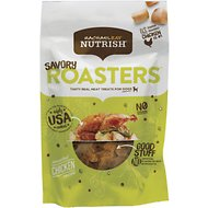 Rachael Ray Nutrish Savory Roasters Roasted Chicken Grain-Free Recipe Dog Treats, 3-oz bag