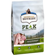 Rachael Ray Nutrish PEAK Grain-Free Natural Northern Woodlands Recipe with Turkey, Duck & Quail Dry Dog Food, 23-lb bag