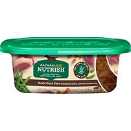 Rachael Ray Nutrish Natural Rustic Duck Stew with Green Beans, Carrots & Brown Rice Natural Wet Dog Food, 8-oz tub, case of 8