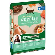 Rachael Ray Nutrish Indoor Complete Chicken with Lentils & Salmon Recipe Natural Dry Cat Food, 14-lb bag