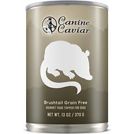 Canine Caviar Brushtail Grain-Free Canned Dog Food, 13-oz, case of 12