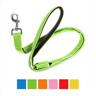 Illumiseen LED USB Rechargeable Dog Leash, 6-ft, Green