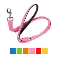 Illumiseen LED USB Rechargeable Dog Leash, Pink, 6-ft