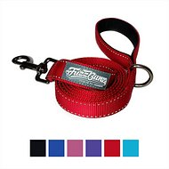 FuzzBunz Heavy Duty Padded Handle Reflective Dog Lead, Red, 6-ft