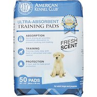 American Kennel Club Fresh Scented Puppy Training Pads, 50 count