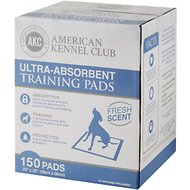 American Kennel Club Fresh Scented Training Pads, 150 count