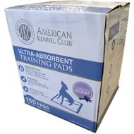 American Kennel Club Lavender Scented Training Pads, 150 count