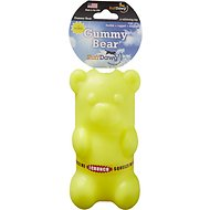 Ruff Dawg Crunch Gummy Bear Dog Toy, Color Varies