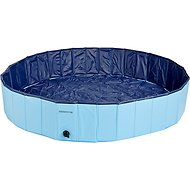 Cool Pup Splash About Dog Pool, Medium, Blue