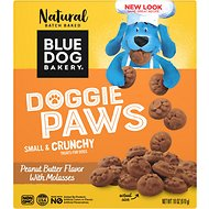 Blue Dog Bakery Doggie Paws Peanut Butter Dog Treats, 18-oz box