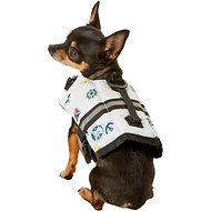 Paws Aboard Nautical Dog Life Jacket, XX-Small