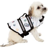 Paws Aboard Nautical Dog Life Jacket, X-Small