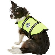 Paws Aboard Yellow Dog Life Jacket, Small