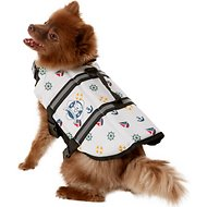 Paws Aboard Nautical Dog Life Jacket, Small