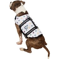 Paws Aboard Nautical Dog Life Jacket, Medium
