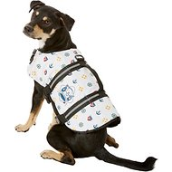 Paws Aboard Nautical Dog Life Jacket, Large