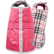 Zack & Zoey Nor'easter Dog Blanket Coat, Small, Pink