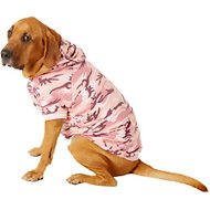 Casual Canine Camo Dog & Cat Hoodie, Pink, XX-Large