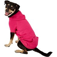 Zack & Zoey Basic Dog & Cat Hoodie, Pink, Large
