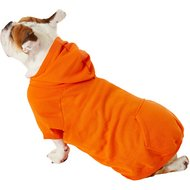 Zack & Zoey Basic Dog Hoodie, X-Large, Orange