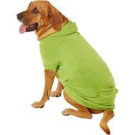 Zack & Zoey Basic Dog & Cat Hoodie, Green, XX-Large
