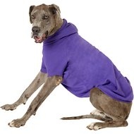 Zack & Zoey Basic Dog & Cat Hoodie, Purple, XX-Large