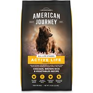 American Journey Active Life Formula Chicken, Brown Rice & Vegetables Recipe Dry Dog Food, 14-lb bag