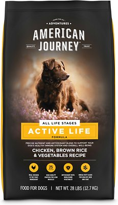 4. American Journey Chicken and Brown Rice Dog Food