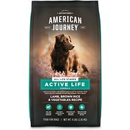 American Journey Lamb & Brown Rice Protein First Recipe Dry Dog Food, 4-lb bag