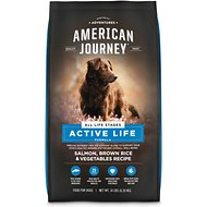 American Journey Salmon & Brown Rice Recipe Dry Dog Food, 14-lb bag