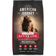 American Journey Beef & Brown Rice Recipe Dry Dog Food, 14-lb bag