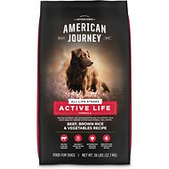 American Journey Active Life Formula Beef, Brown Rice & Vegetables Recipe Dry Dog Food, 28-lb bag