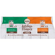 Nutro Kitchen Classics Premium Loaf Variety Pack: Grass Fed Lamb & Brown Rice Dinner And Slow Cooked Chicken, Rice & Oatmeal Dinner Canned Dog Food, 12.5-oz, case of 6
