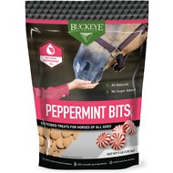 Buckeye Nutrition All Natural Peppermint Bits Horse Treats, 4-lb bag