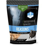 Buckeye Nutrition Reasons Joint Support Horse Treats, 4-lb bag