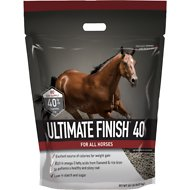 Buckeye Nutrition Ultimate Finish 40 Pelleted Fat Horse Supplement, 20-lb pail