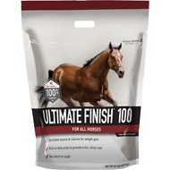 Buckeye Nutrition Ultimate Finish 100 Granulated Fat Horse Supplement, 20-lb pail
