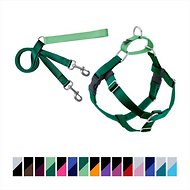 2 Hounds Design Freedom No Pull Dog Harness and Leash, 1-inch Large, Green