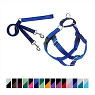 2 Hounds Design Freedom No Pull Dog Harness & Leash, Royal Blue, 1-in, X-Large