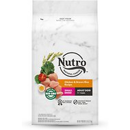 Nutro Wholesome Essentials  Small Breed Adult Farm-Raised Chicken, Brown Rice & Sweet Potato Recipe Dry Dog Food, 5-lb bag