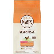 Nutro Wholesome Essentials Small Breed Puppy Farm-Raised Chicken, Brown Rice & Sweet Potato Recipe Dry Dog Food, 5-lb bag