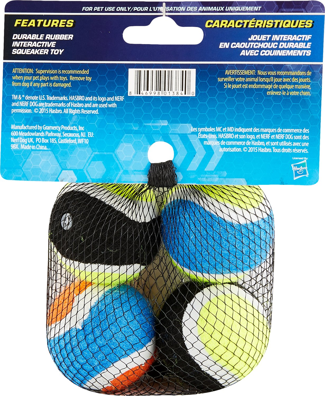 Nerf Dog Rugby Ball: Nerf Dog Tennis Balls Dog Toy, 4 Pack, X-Small