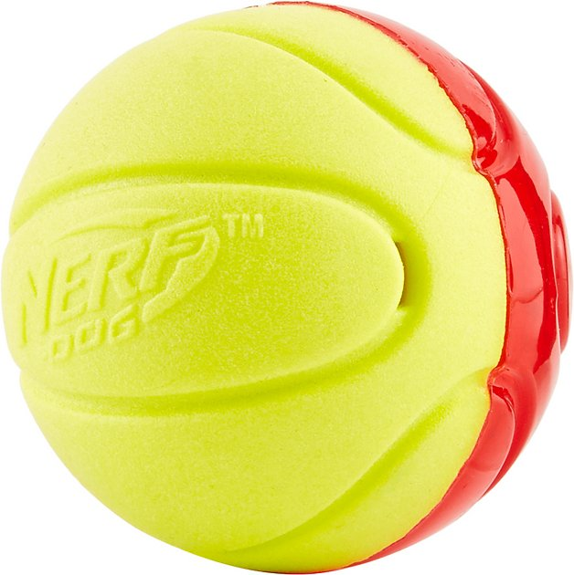 Nerf Dog Squeaker Tpr Foam Ball Dog Toy Small Chewy Com